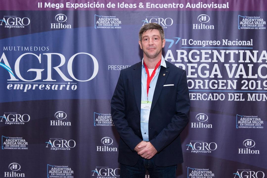 Carlos José Colombo - Presidente del Centro de Consignatarios de Productos del Pais