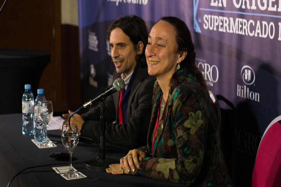 Mercedes Nimo - Directora de Alimentos y Bebidas y Pablo Morón - Director de Proyectos Alimentarios