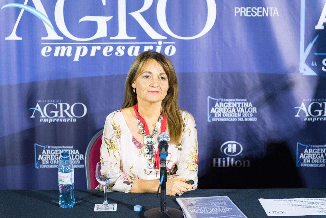 María del Huerto Ratto - Pta. / Coord. de la Filial Pergamino de Mujeres de Federación Agraria / Distrito 7