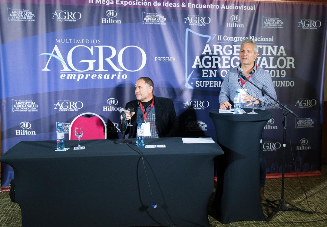 Gustavo Torresi y Javier Parnisari - Asesor de FACMA y Vicepresidente de Cluster