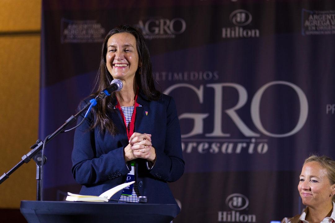 Andrea Grobocopatel - Presidenta de la Fundación Flor