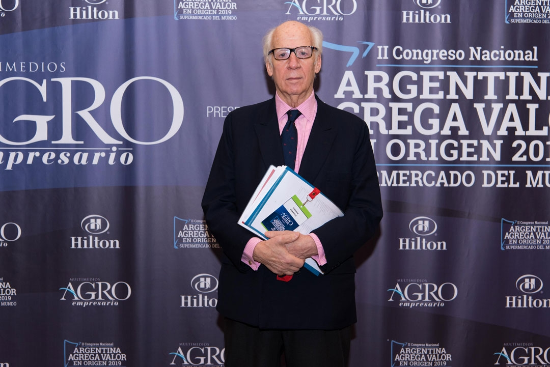 Enrique Mantilla - Presidente de la Cámara de Exportadores de la República Argentina