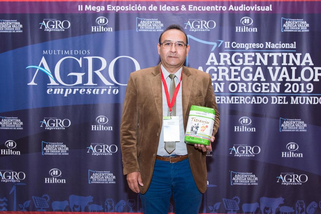 Juan Carlos Domínguez - Gerente Comercial de Yerba Mate Titrayju Cooperativa Agricultura
