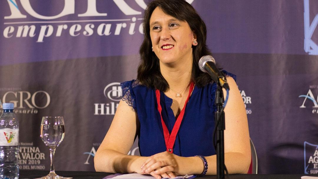 Lilia Cortese - Directora de Asistencia Técnica y Financiera del Ministerio de Producción de La Pampa
