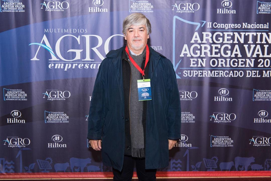 Hugo Eduardo Bay - Subsecretario de Recursos Natrurales, Ordenamiento y Calidad Ambiental de Formosa