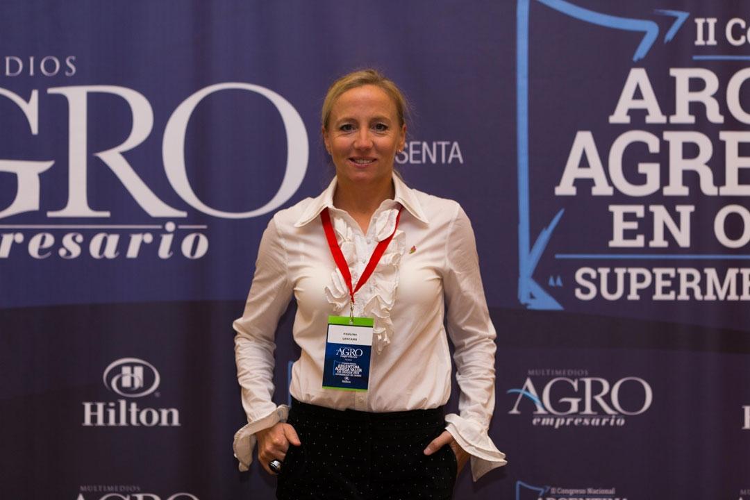 Paulina Lescano - Alumna MED de la Fundación Flor