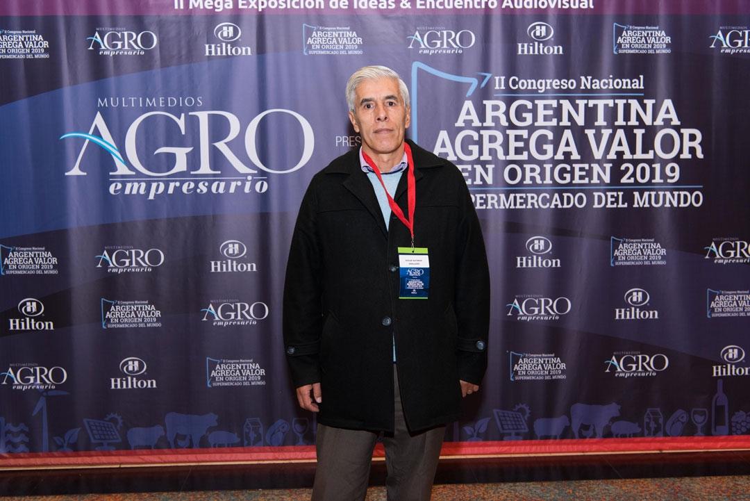 Oscar Alfonso Arellano - Decano de la Facultad de Ciencias Agrarias de la Universidad de Catamarca
