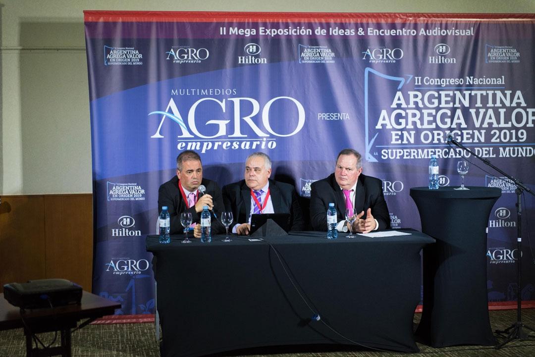 Raúl Santoandré, Miguel Militello y Martín Leiras - Presidente, Protesorero y Secretario de la FIPPBA