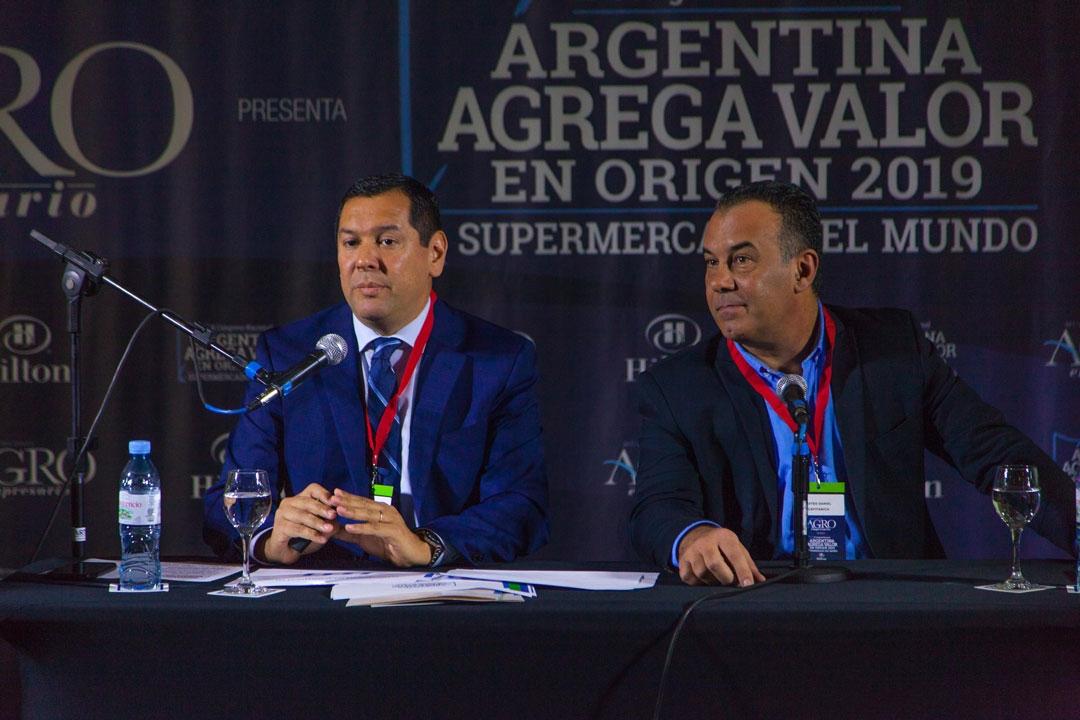 Mateo D. Capitanich - Vgob. de Chaco, Cristian A. Ocampo - Mtro de Hacienda y Finanzas Púb. de Chaco