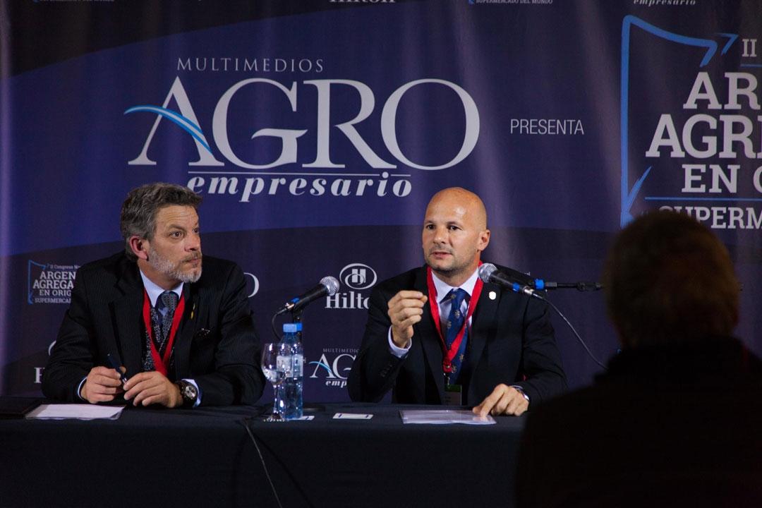 Sebastián Felgueras y Matías Lestani - Dir. de la Esc. de Agronomía y Docente de Econ. y Política Agrop., USAL.
