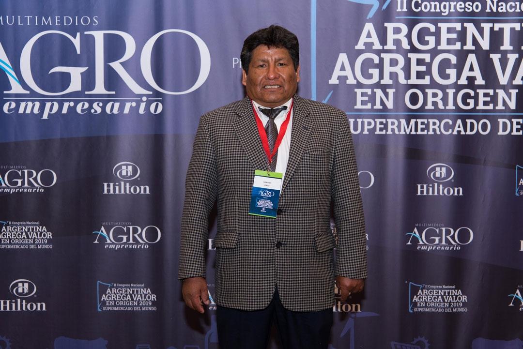 Urbano Cruz - Gerente de la Cooperativa Agroganadera de Comunidades Altoandinas de Cusi Cusi, Jujuy