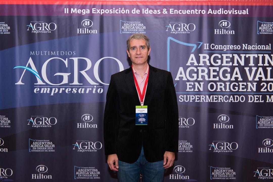 Oscar Eduardo Palma - Docente-Investigador de la Escuela de Ciencias Agrarias, Naturales y Ambientales, UNNOBA