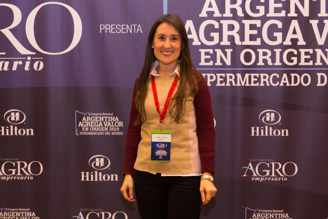 María Celeste Barcus - Responsable en Sello Agroalimentarios Argentinos