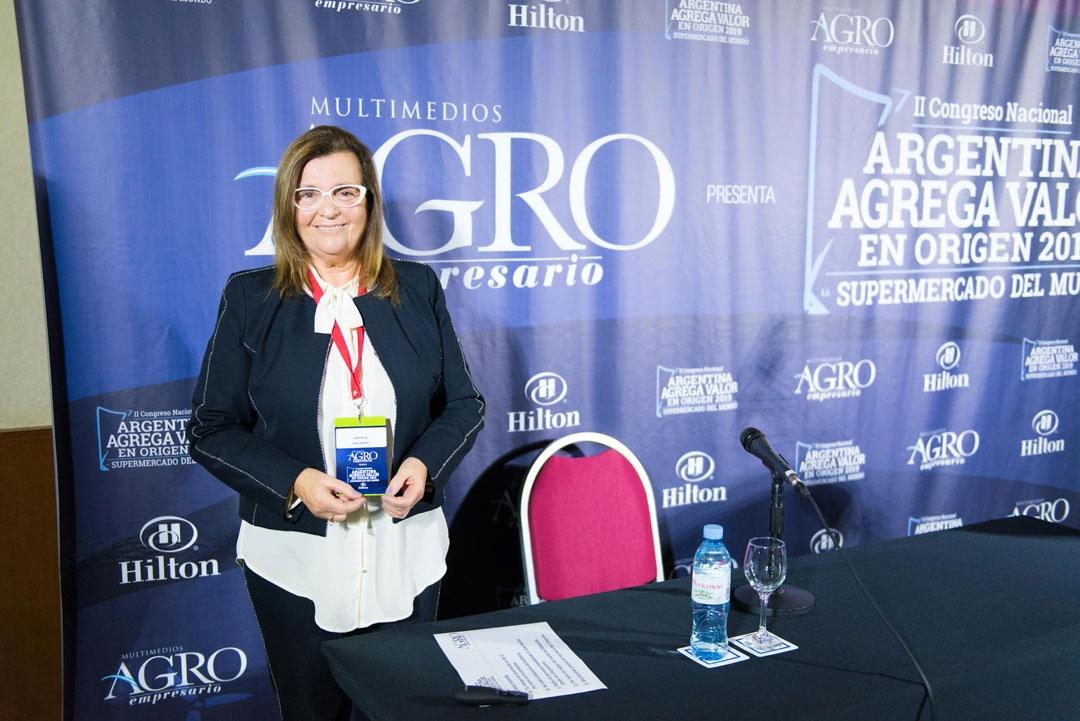 Ángela Orlando - Presidenta de ASAGA