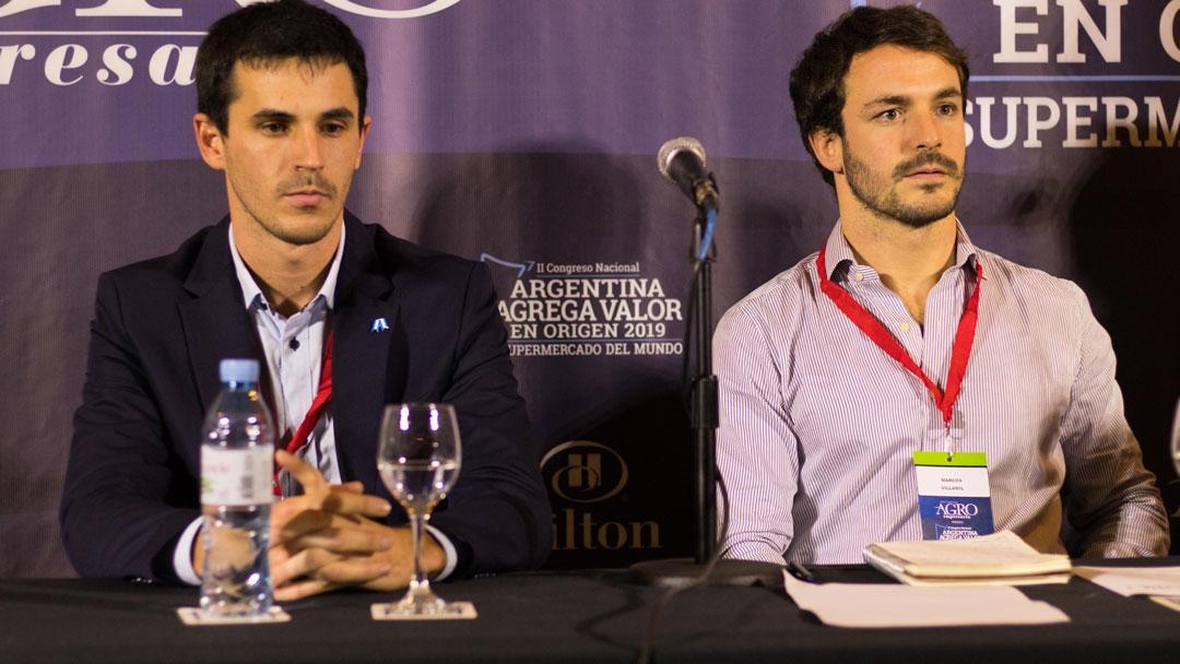 Marcos Villamil y Lucas Amadeo - Co-Fundadores de Jornaderos Agro