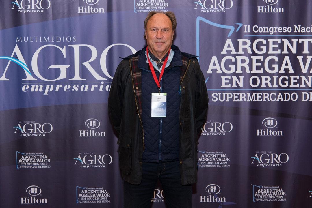 Carlos Rossi - Decano de Ciencias Agrarias de la Universidad Nacional de Lomas de Zamora