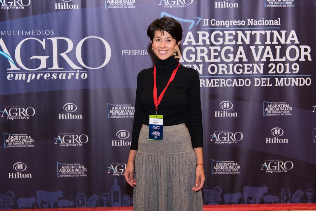 Agustina Molluso - Directora de Relaciones Institucionales de Wobax