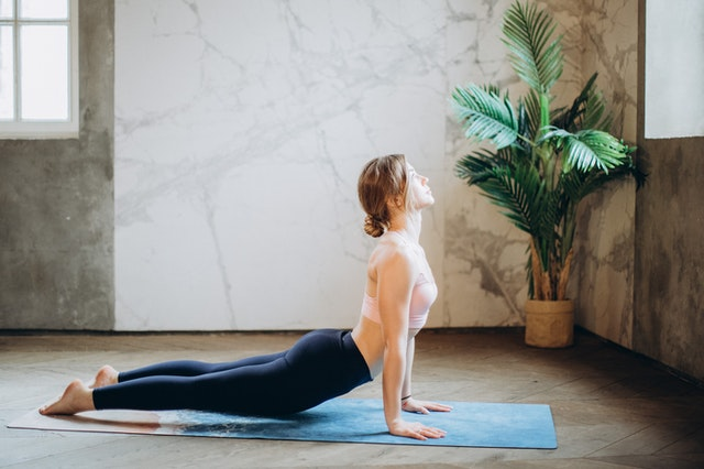 Cobra Pose is excellent for stretching the abdomen