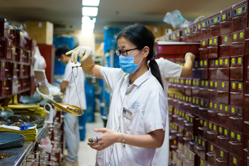 mixing traditional chinese medicine (中药房) for coronavirus optimized