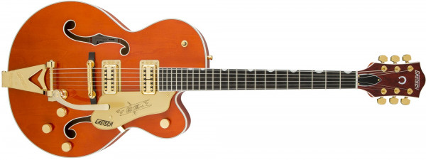 Gretsch G6120 Players Edition Nashville Orange Stain