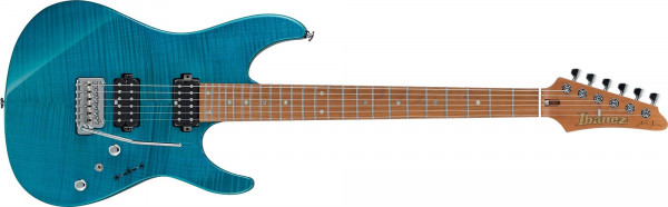 Ibanez MM1 Martin Miller Transparent Aqua Blue