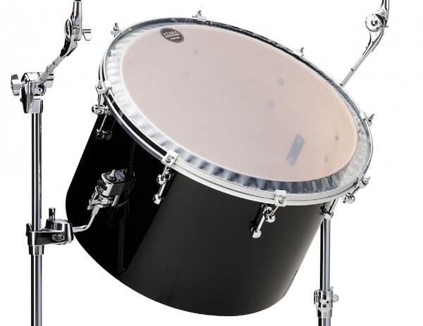 "Tama Starcl. Maple Gong Drum 20""x14"" Piano Black"