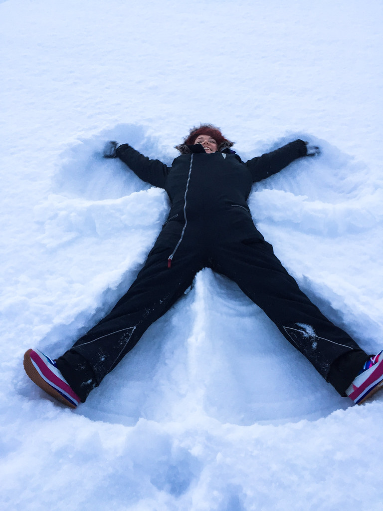 Snow angel- an American classic