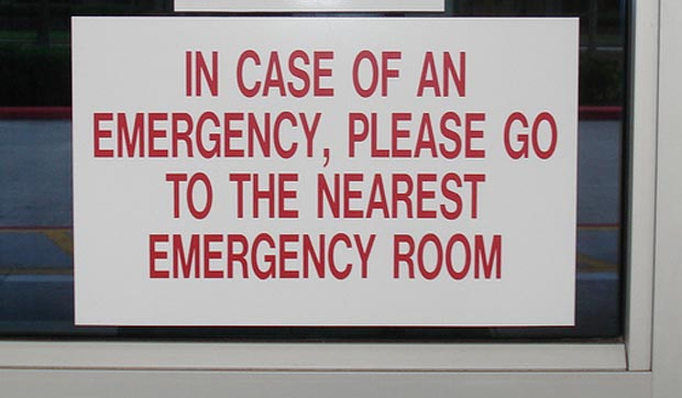 In Case of an Emergency