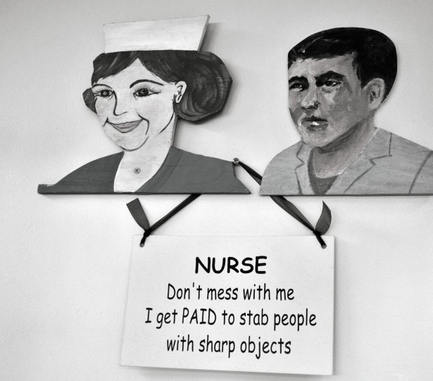 Nurse Don't Mess With Me