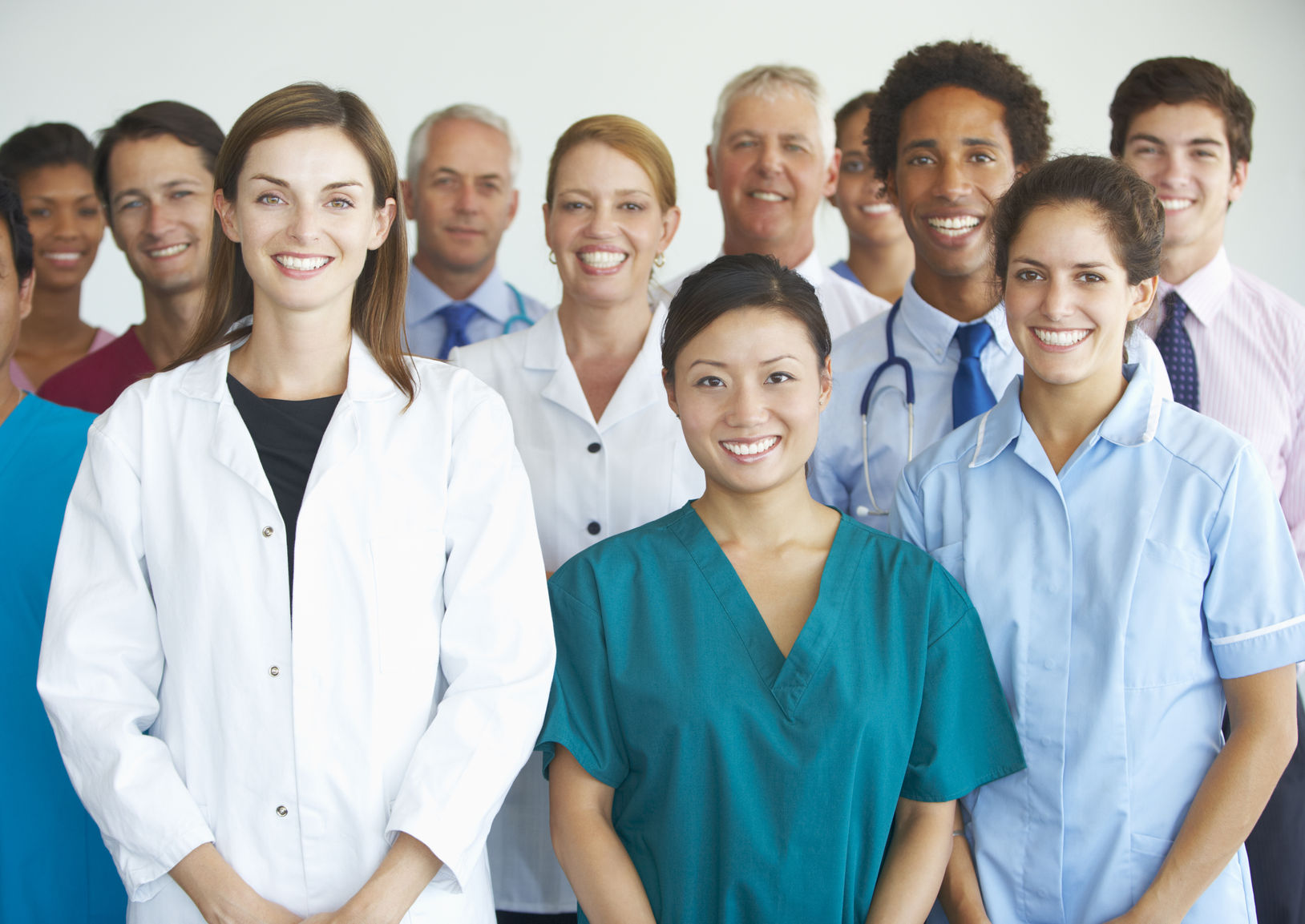 Work in Healthcare Without a Medical Degree