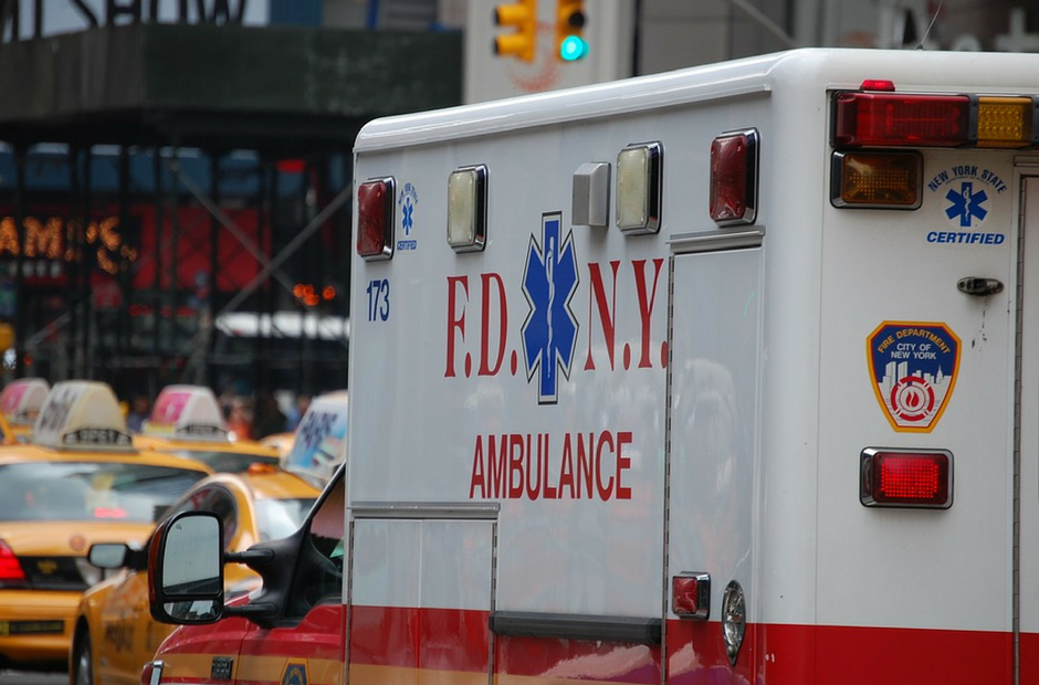 Emergency Medical Service Professionals, Ambulance