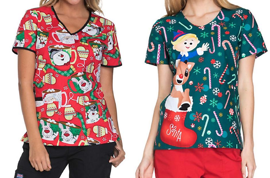 Christmas Themed Scrubs - Healthcare