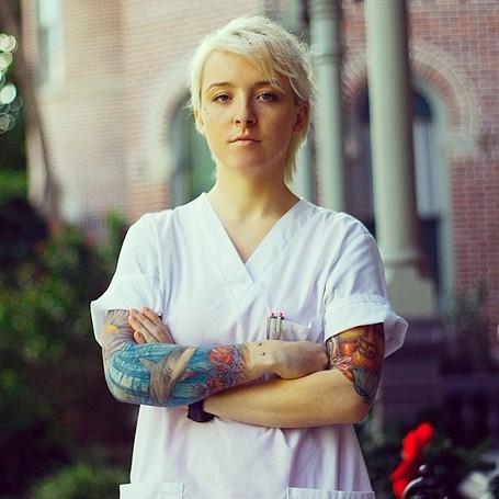 Nurse With Tattoos