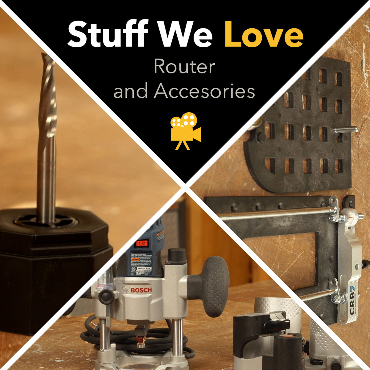 Stuff We Love: Routers and Essential Router Accessories