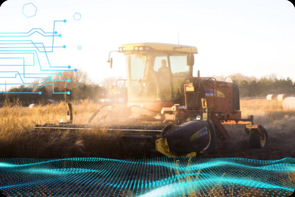Smart farming tractor