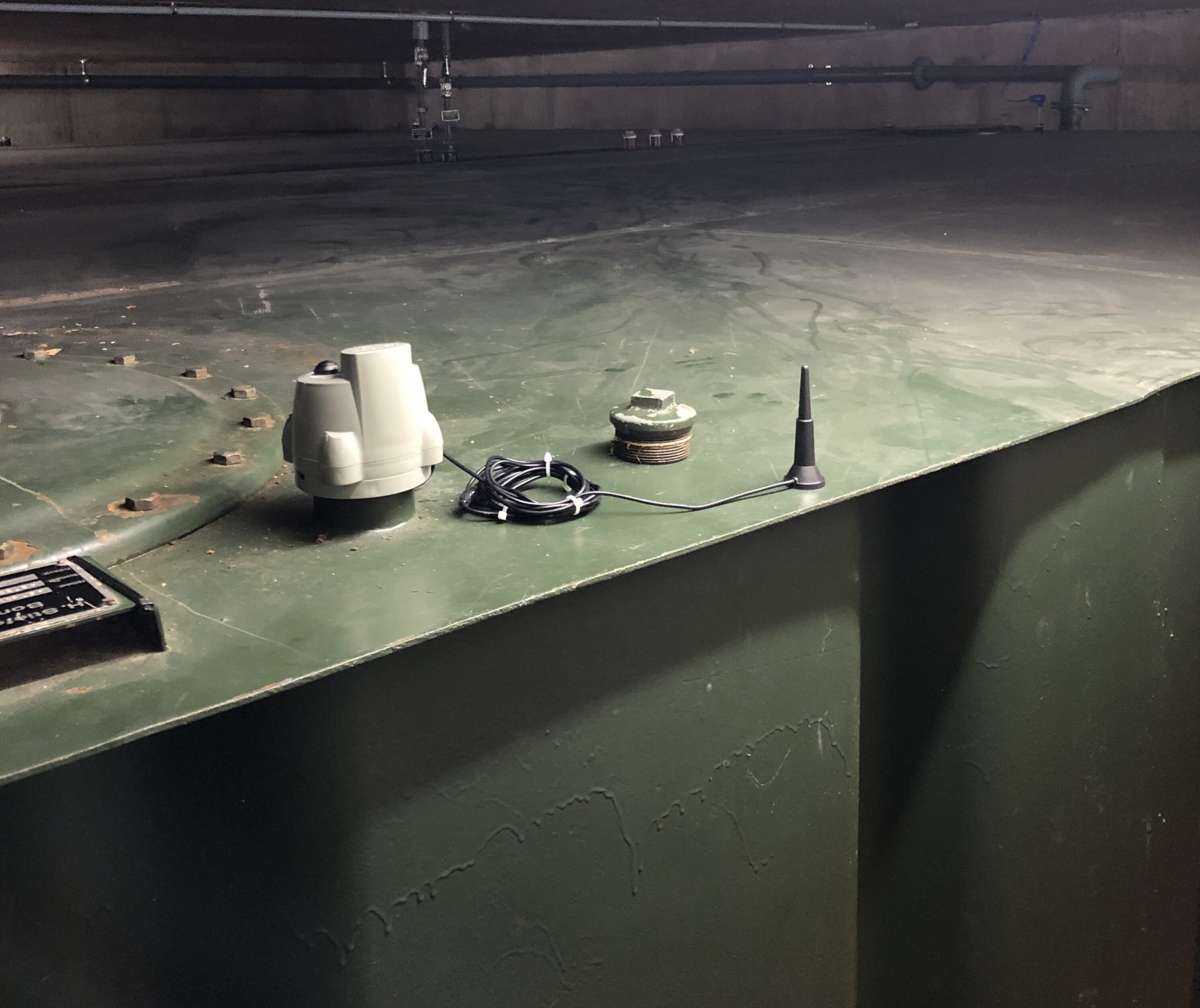 Oil tank monitoring