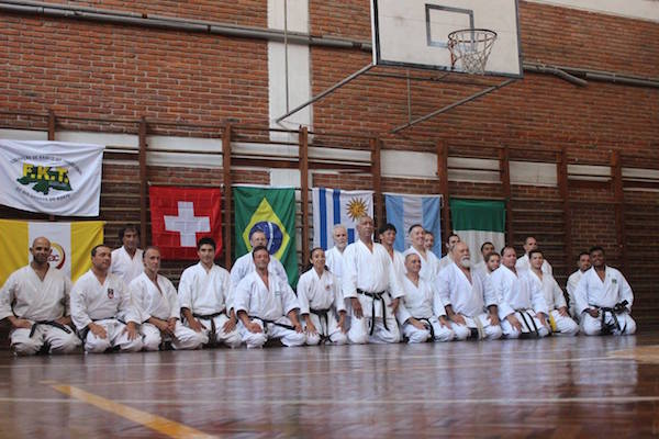Foto oficial dos participantes! Crédito: Centro Budo.