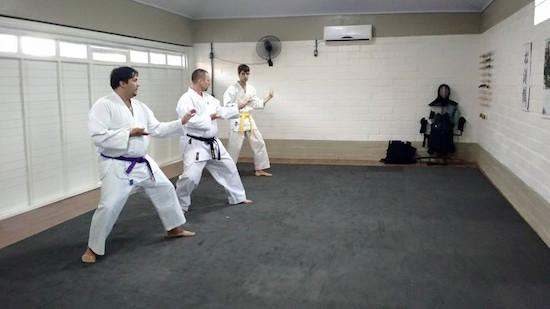 Karate-do em Teutônia!