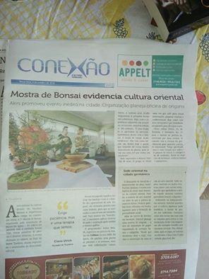 Matéria publicada no Jornal A Hora, de Lajeado, no dia 04/10