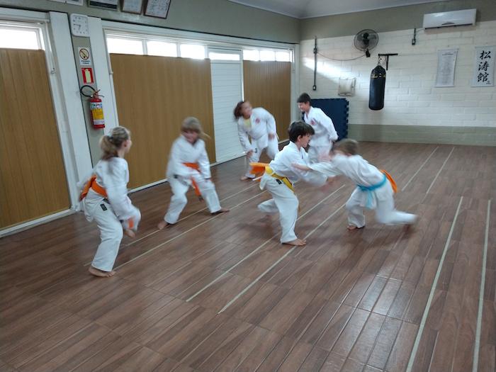 Karate para crianças 2