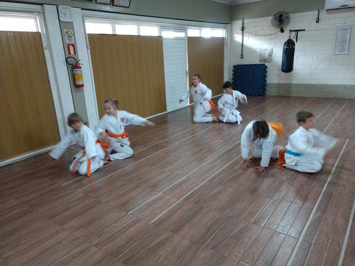 Karate para crianças