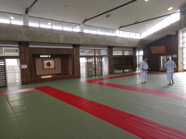 Instrutor de karate shotokan