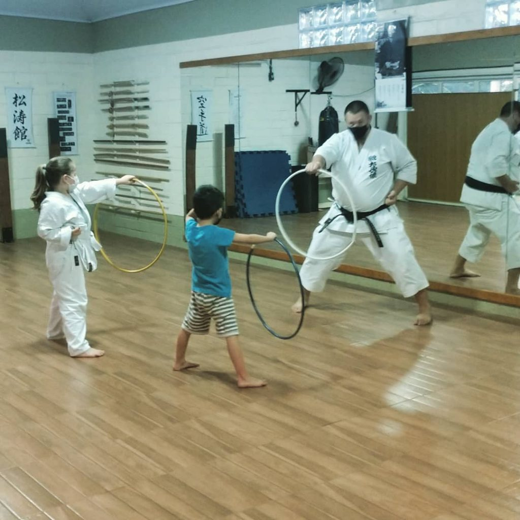 Karate-do para crianças