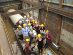 Site Visit from students from TU Delft