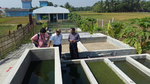 Mr. Taher visiting Sludge Treatment Technology