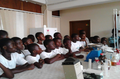 Field visit by Schools to Barekese Treatment Plant