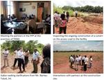RVO representative visits IWMI Ghana