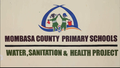 MOMBASA COUNTY PRIMARY SCHOOLS WASH PROJECT