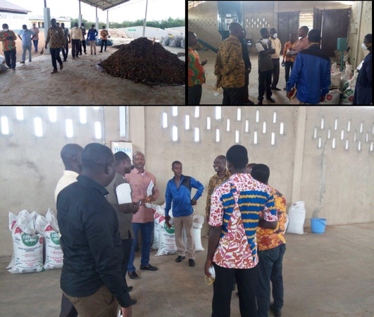 Securing land at Yilo Krobo for the construction of a compost plant on the Dutch