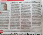 Accelerating action towards water and sanitation rights